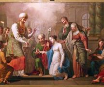 Обручение Марии с Иосифом. И. Чернов 1804-1811 гг.