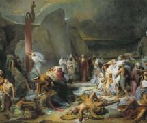 Медный змий. Ф. Бруни. 1841 г. Государственный Русский музей, СПБ
