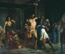 Самсон и Далила. А. Кившенко. 1876 г. Чувашский государственный художественный музей