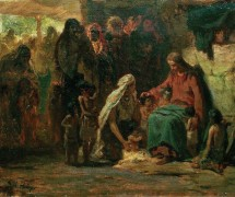 Благословение детей. И. Репин. 1890-е гг.