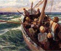 Буря. В. Поленов. 1889-1909 гг