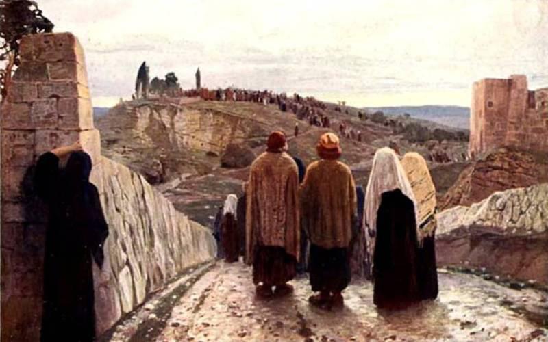 Взошли на Голгофу. В. Поленов. 1889–1909 гг.