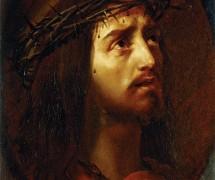 Голова Христа в терновом венце. К. Брюллов. 1849