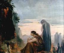 Жёны-мироносицы. М. Башкирцева. 1884 г.
