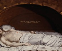 Иисус во гробе. В. Боровиковский