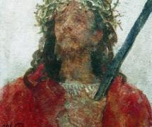 Иисус в терновом венце. И. Репин. 1913 г