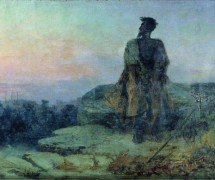 Иуда. Ф. Бронников. 1874 г. Шадринский краеведческий музей имени В. П. Бирюкова