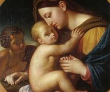 Мадонна с Младенцем Христом и Иоанном Крестителем. А. Егоров. 1833 г.