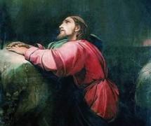 Моление о чаше. Ф. Бруни. 1834–1836 гг.
