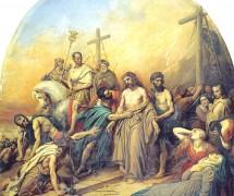 На Голгофе. К. Штейбен. 1841 г.