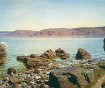 На Тивериадском (Геннисаретском) озере. В. Поленов. 1888 г. ГТГ