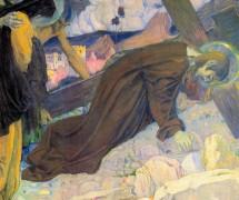 Несение Креста. М. Нестеров. 1912 г.