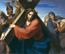 Несение Креста. Ф. Моллер. 1869 г.