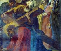 Несение Креста. Ф. Моллер. 1871 г.