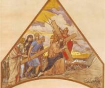 Несение креста. В. Васнецов. 1897 г.