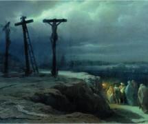 Ночь на Голгофе. В.  П. Верещагин. 1869 г.