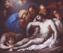 Оплакивание Христа. А. Венецианов. 1811 г.