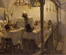 Повинен смерти. В. Поленов. 1906 г.
