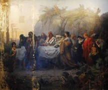 Погребение Христа. Н. Кошелев. 1880–1881 гг.