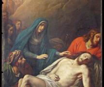 Положение во гроб. К. Штейбен. 1843 г. Исаакиевский собор, СПб
