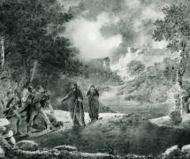 Предательство Иуды. И. Айвазовский. 1834 г