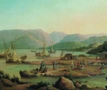 Призвание первых апостолов. Г. Чернецов. 1866 г.
