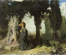 Прискорбна душа Моя. В. Поленов. 1889–1909 гг.