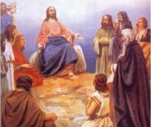 Проповедь Христа. К. Лебедев