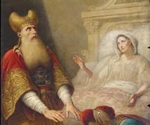 Рождение Иоанна Крестителя. К. Штейбен. 1843–1854 гг. Исаакиевский собор, СПб