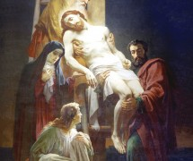 Снятие с креста. В.  П. Верещагин. 1875–1880 гг. Храм Христа Спасителя