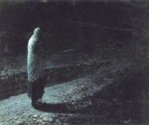 Совесть (Иуда). Н. Ге. 1891 г. Государственная Третьяковская галерея