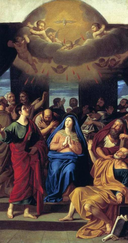 Сошествие Святого Духа на апостолов. А. Егоров. 1811 г. ГТГ