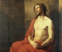 Спаситель в темнице в терновом венке. К. Брюллов. 1834 г.