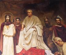 Суд Пилата. В. Котарбинский, П. Сведомский. 1887–1895 гг.