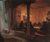 Тайная вечеря. В. Поленов. 1889–1909 гг.