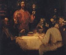 Тайная вечеря. И. Репин. Эскиз. 1876 г. ГТГ