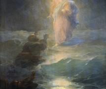 Хождение по водам. И. Айвазовский. 1888 г.