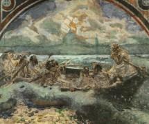 Хождение по водам. М. Врубель. 1891 г..