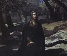 Христос в  Гефсиманском саду. Н. Ге 1869 г. Ивановское объединение художественных музеев