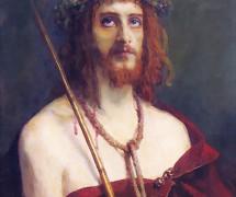 Христос в терновом венце. И.  Крамской. 1881 г. Государственный музей истории религии, СПб