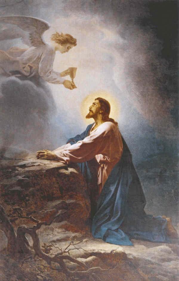 Моление о чаше. В. П. Верещагин. 1875–1880 гг.